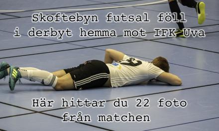 22 bilder från Skoftebyn futsal – IFK Uddevalla futsal 3-4 (1-2)