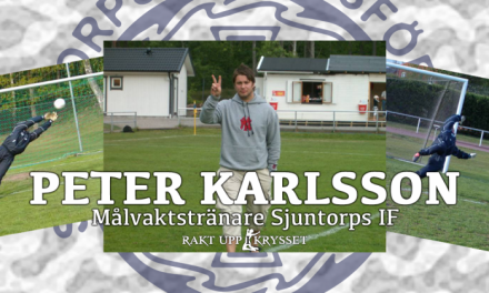 """Peter """"Käla"""" Karlsson till Sjuntorps IF"""