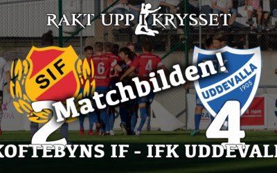 Matchbilden: Skoftebyns herrar – IFK Uddevalla 2-4
