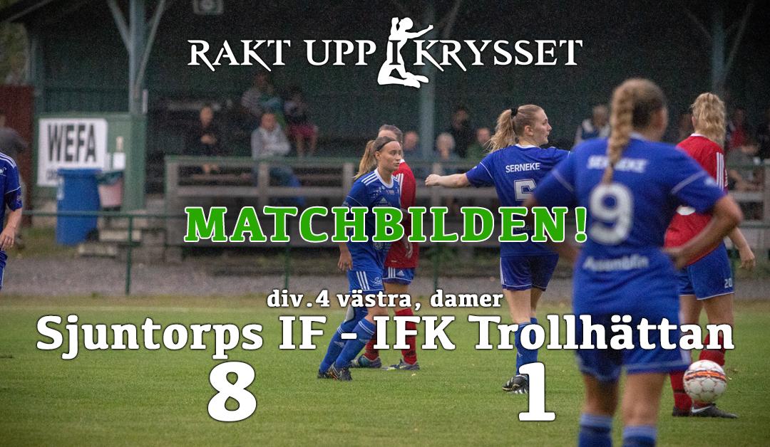Matchbilden! Sjuntorps IF dam – IFK Trollhättan dam