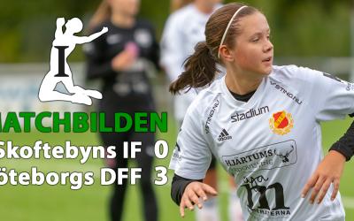 Matchbilden! Div.1 NG dam: Skoftebyns IF – Göteborgs DFF 0-3