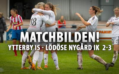 Matchbilden! Ytterby IS – LNIK dam 2-3 | Seriesegrare LNIK