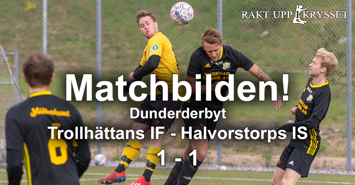 Matchbilden: Dunderderbyt TIF – HIS 1-1