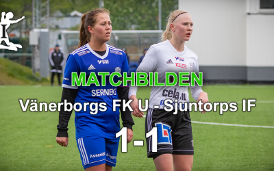 Matchbilden: VFK U – Sjuntorps IF 1-1