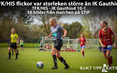 TFK/HIS flick/junior – IK Gauthiod U 10-1