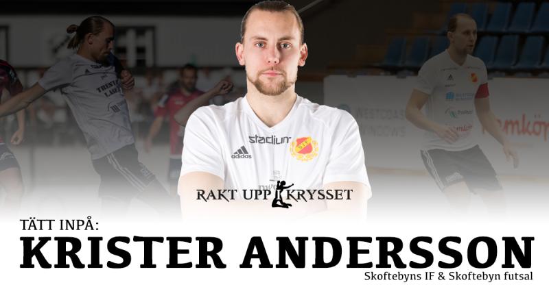 Tätt inpå: Charmören Krister Andersson