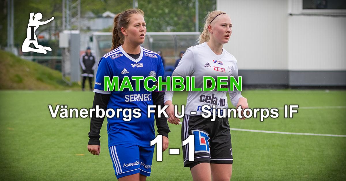 Matchbilden: VFK U – Sjuntorps IF 1-1