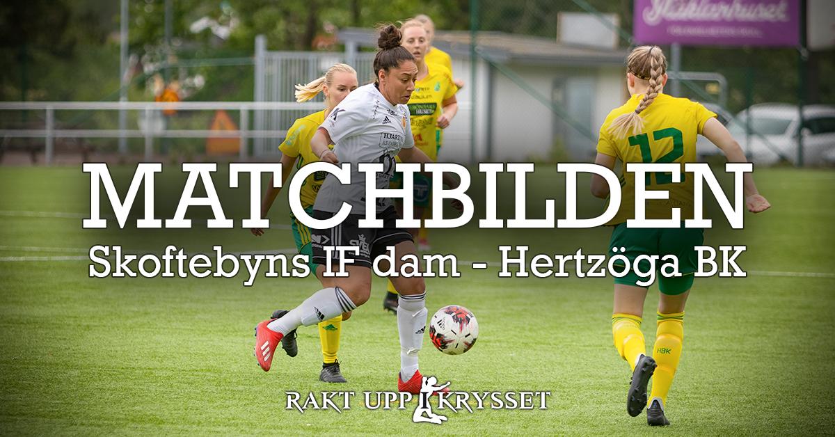 Matchbilden: Skoftebyns IF – Hertzöga BK 2-2