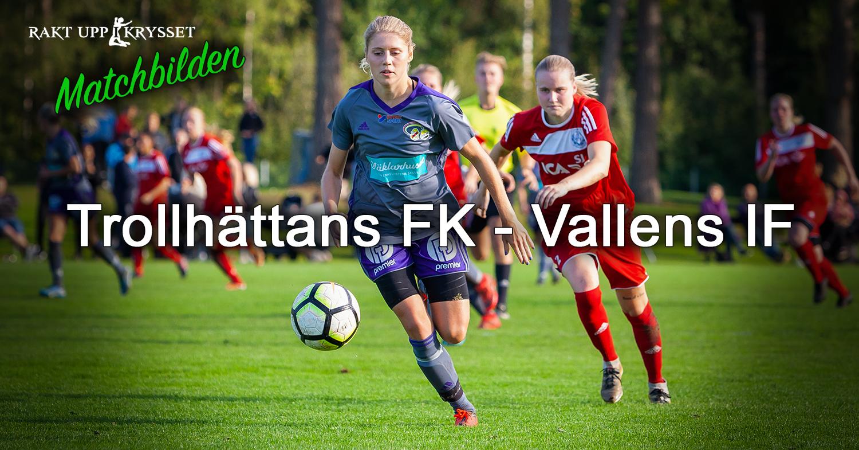 Matchbilden: Trollhättans FK – Vallens IF 4-1