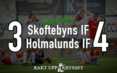 Skoftebyns IF – Holmalunds IF 3-4