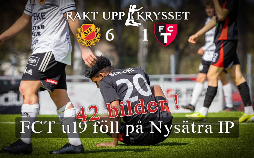 Äntligen match! Skoftebyns IF vs FCT u19  6-1