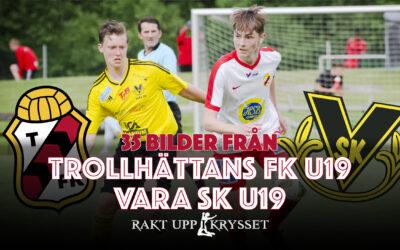 35 bilder från Trollhättans FK U19 – Vara SK U19