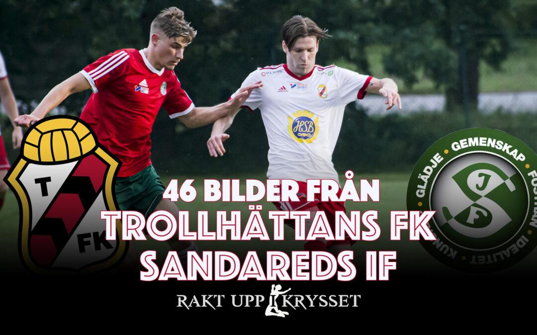 46 bilder: Trollhättans FK – Sandareds IF 2-1