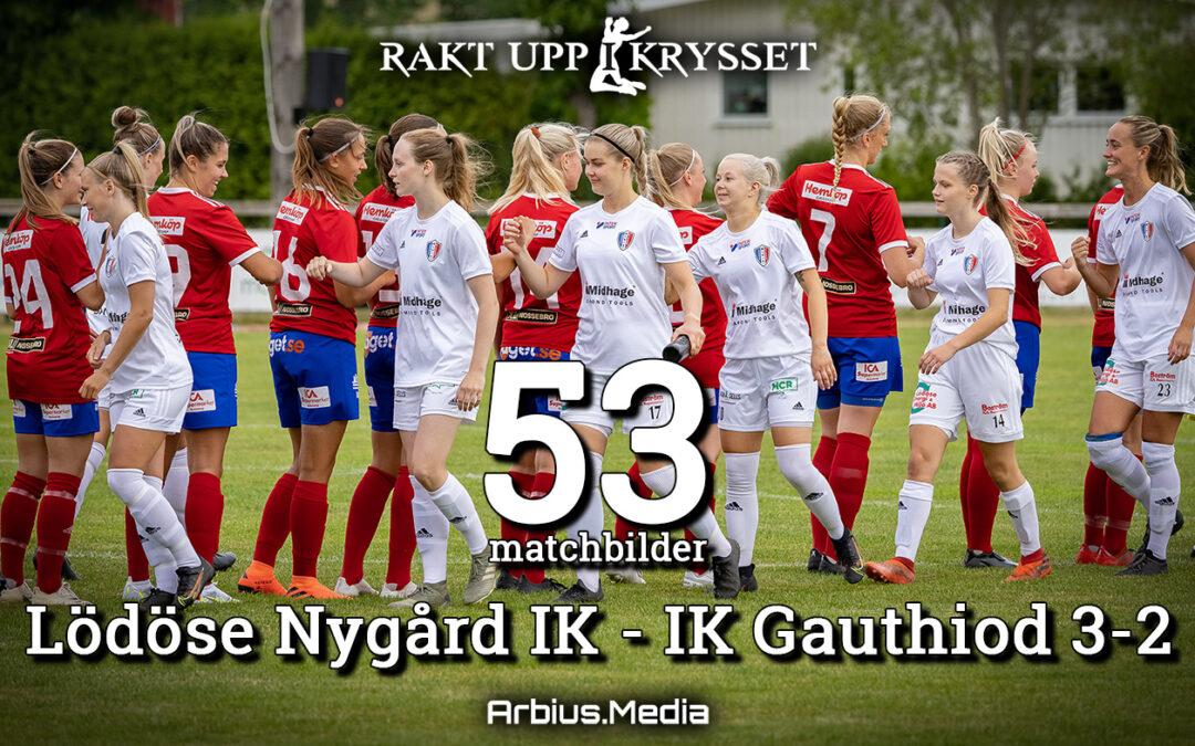Seger för LNIK dam hemma mot IK Gauthiod 3-2