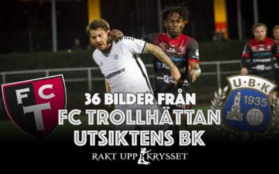 36 bilder: FC Trollhättan – Utsiktens BK