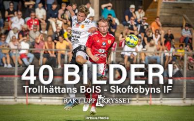 40 bilder från derbyt: Trollhättans BoIS – Skoftebyns IF